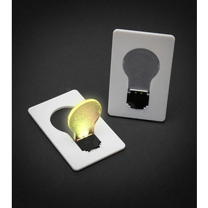 Credit Card Light Bulb