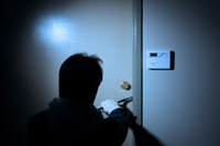 Burglary deterrence system demonstrated