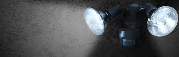 Gentec Services can instal security lights around your home or business.